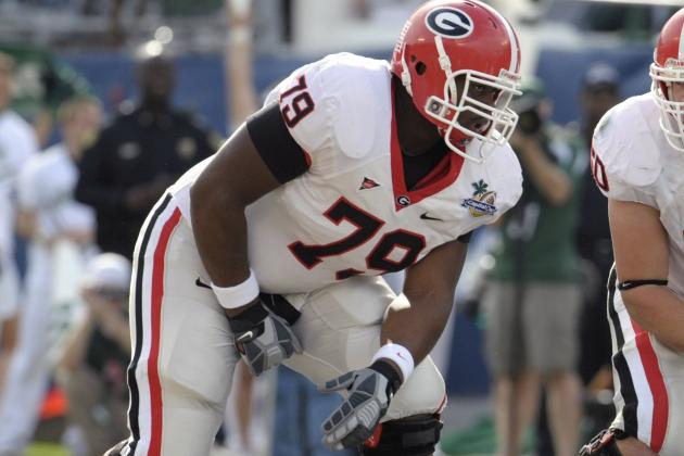 2012 NFL Draft: University of Georgia Offensive Tackle Justin Anderson