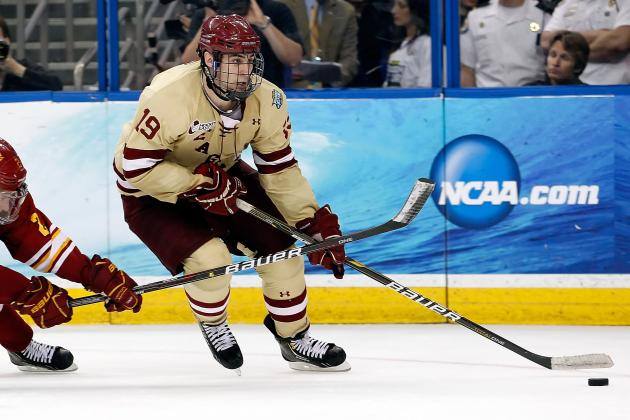 Frozen Four 2012: 3 Players from the National Champion Eagles Destined for NHL