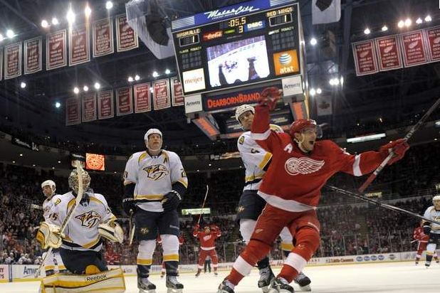 2012 Detroit Red Wings: A Tale of 2 Seasons Earns the 5th Seed