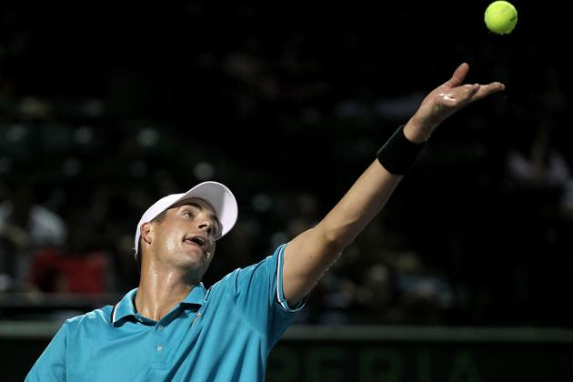 John Isner Beats Jo-Wilfried Tsonga to Put US into Davis Cup Semifinals
