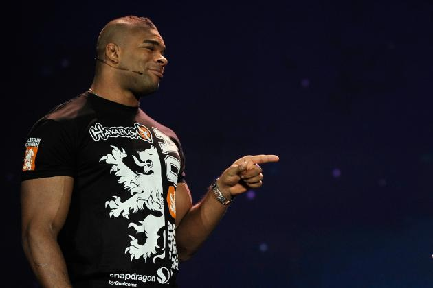 Alistair Overeem Files for Nevada Fighter's License, Will Be at April 24 Hearing