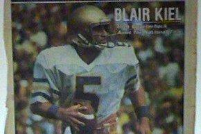 Former Notre Dame/Indianapolis Colts QB Blair Kiel Passes Away