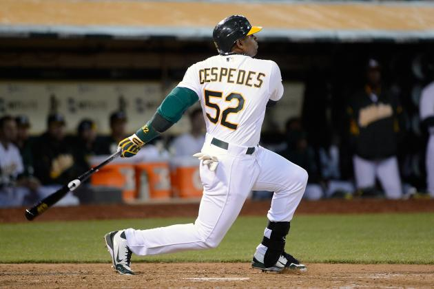 MLB Rookie Watch: Yoenis Cespedes Doing Well, but Needs Better Plate Discipline