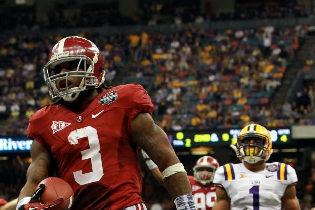 2012 NFL Draft: Is Trent Richardson a Possibility for the New York Jets?