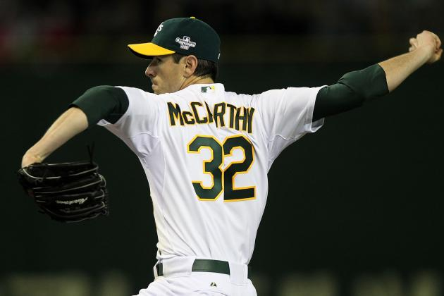 Can Brandon McCarthy Be a Legitimate Ace for Oakland Athletics?