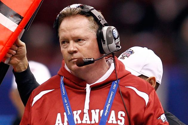Bobby Petrino: Arkansas Razorbacks Must Take Time with Tough Decision