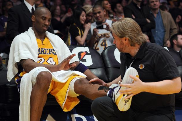 Kobe Bryant's Body Won't Survive Lakers Brutal Schedule