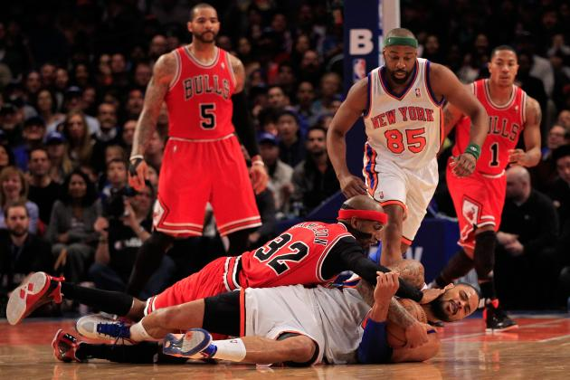 NBA Playoffs 2012: Chicago Bulls and More Teams on Shaky Ground