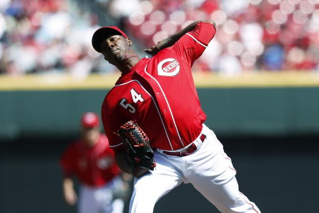 Cincinnati Reds' Aroldis Chapman Is off to a Terrific Start in 2012