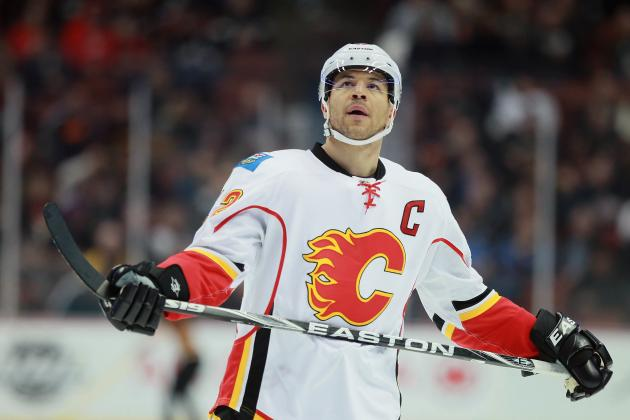 NHL Trade Rumors: Is Jarome Iginla's Exit from Calgary Flames Inevitable?