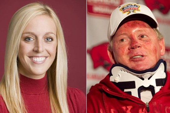 Bobby Petrino's Affair with Jessica Dorrell Has Huge Impact Outside the Lines