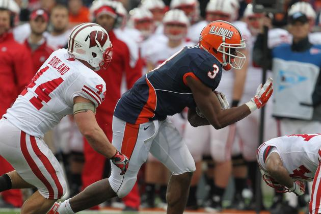 Big Ten Football Top 150 Players: No. 145, Jon Davis, Illinois TE