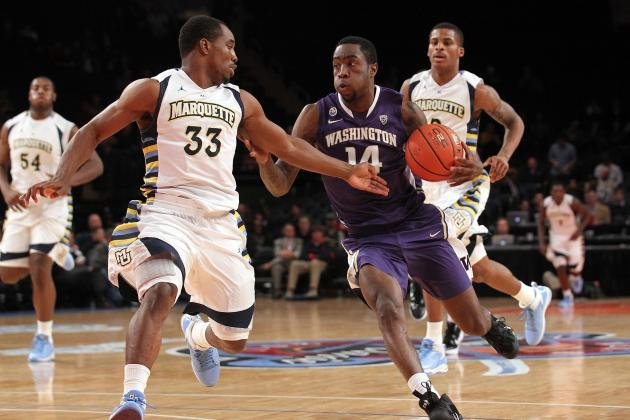 NBA Draft 2012: Tony Wroten Is Best Player No One Is Talking About