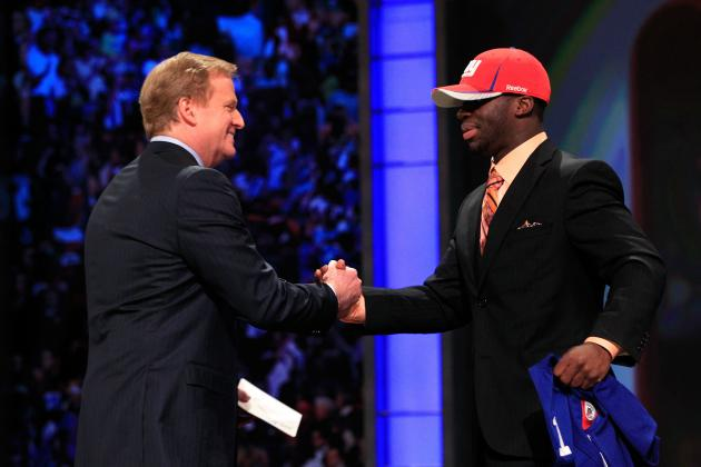 NFL Draft 2012: Should the New York Giants Look into Trading for the No. 3 Pick?