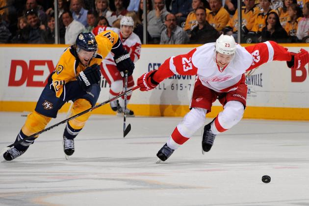 NHL Playoffs 2012: What the Season Series Between Predators/Red Wings Taught Us