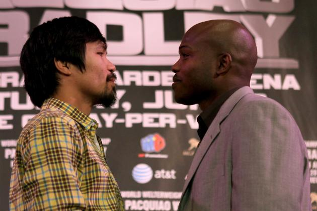 Manny Pacquiao's Conditioning Coming into Question for Timothy Bradley Fight