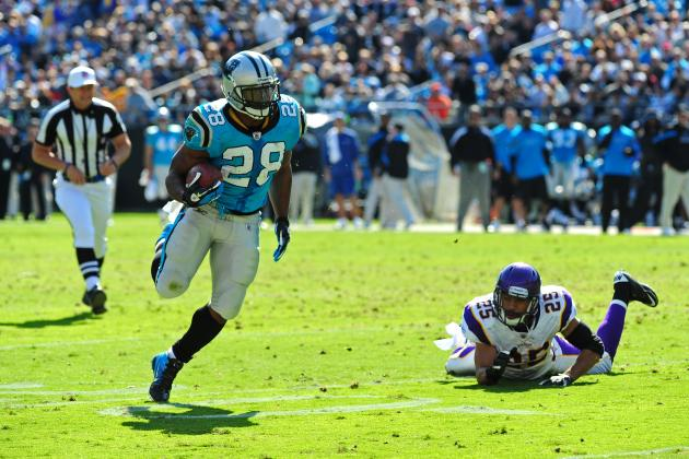 Carolina Panthers Trade Rumors: Why Carolina Needs RB Jonathan Stewart
