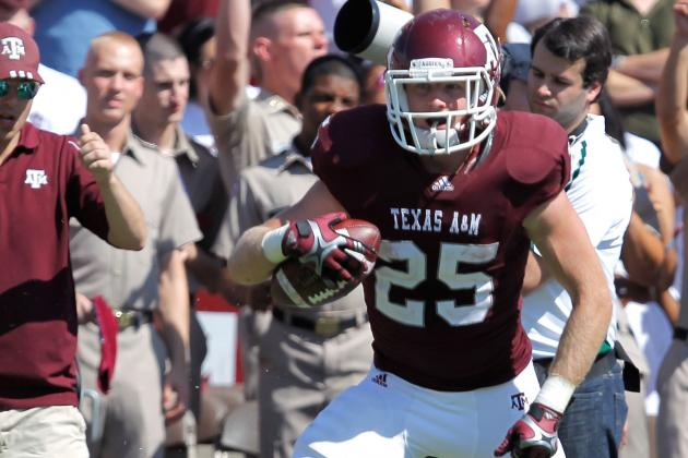 College Football 2012 Top 150 Players: No. 144 Ryan Swope, Texas A&M WR
