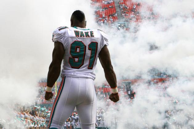 Draft Impact: Dolphins DE/OLB Cameron Wake Doesn't Show at Voluntary Workout