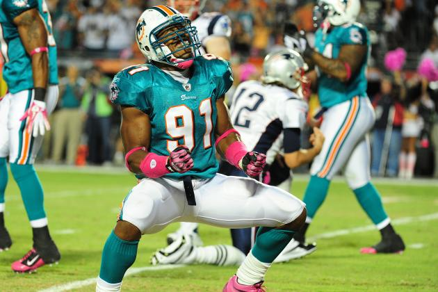 Cameron Wake Would Be Wise to Hold Out until the Miami Dolphins Re-Sign Him