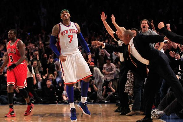 Carmelo Anthony, New York Knicks Are Getting Hot at the Right Time
