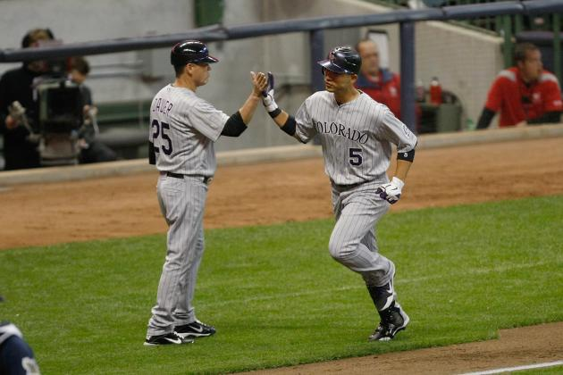 Fantasy Baseball 2012: Don't Worry About Carlos Gonzalez's Slow Start