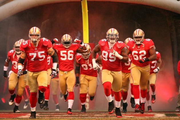 2012 San Francisco 49ers Schedule: Full Listing of Dates, Time and TV Info