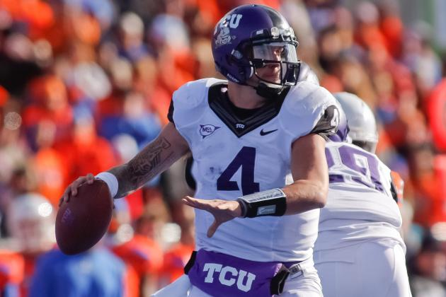 College Football 2012 Rankings: Big 12 Quarterback Group Gets the Top Spot