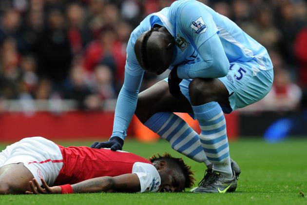 Arsenal vs. Manchester City: FA Lose the Plot as Mario Balotelli Goes Unpunished