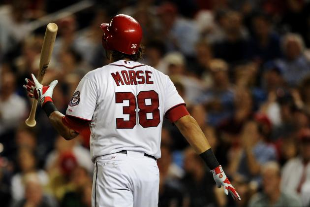 Washington Nationals' Slugger Michael Morse out Indefinitely, Johnson Concerned