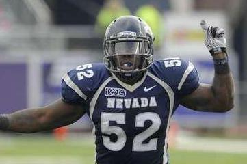 2012 NFL Draft: University of Nevada Linebacker James-Michael Johnson