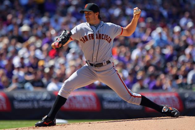 Barry Zito Tosses Improbable Masterpiece; Aubrey Huff Manages to Leave a Smudge