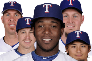 Neftali Feliz's Debut: Grading the Texas Rangers' Rotation After First Start