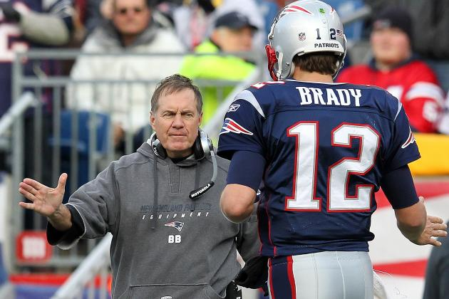 2012 New England Patriots Schedule: Full Listing of Dates, Time and TV Info