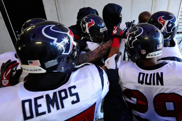 Houston Texans 2012 Schedule: Full Listing of Dates, Time and TV Info