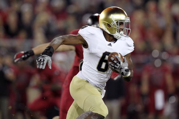 Notre Dame Football: What to Expect from Theo Riddick's Return to Running Back