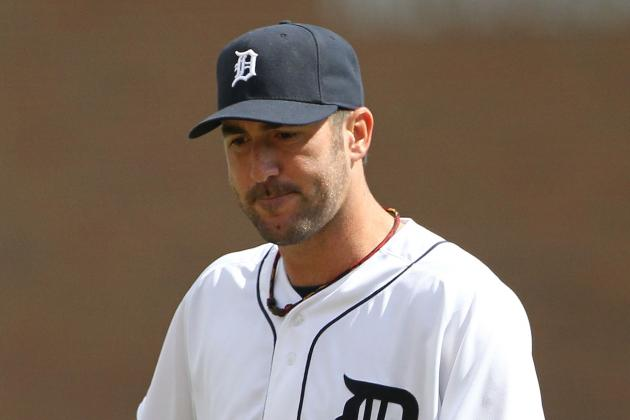 Detroit Tigers Ace Justin Verlander Unravels in 9th; Tigers Lose, 4-2