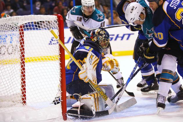 NHL Playoffs 2012: The Sharks Have More to Worry About Than Blues' Goalie Tandem