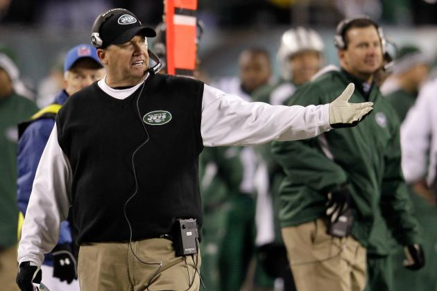 2012 New York Jets Schedule: Full Listing of Dates, Time and TV Info