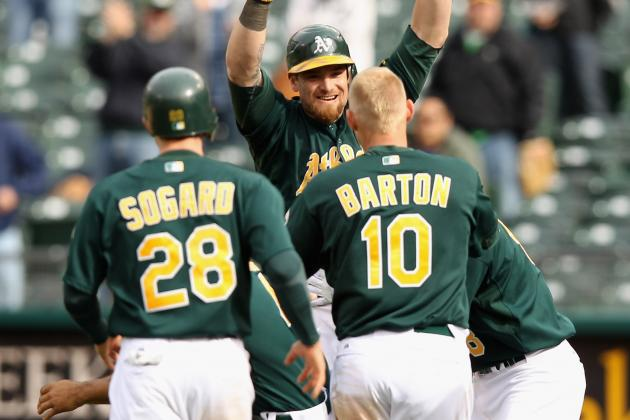 Oakland Athletics Top Kansas City Royals 5-4 After Bizarre 12th Inning