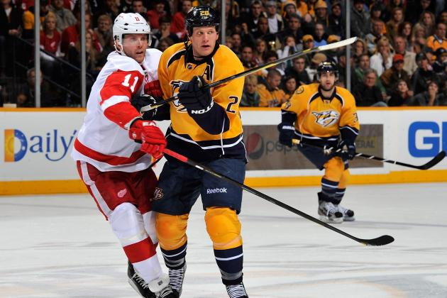 NHL Playoffs 2012: Detroit Red Wings vs Nashville Predators Series Preview
