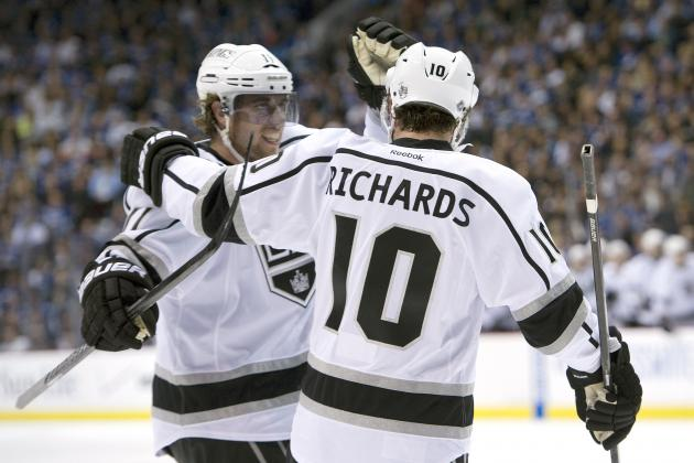 NHL Playoffs 2012: Mike Richards Shows Why the Los Angeles Kings Traded for Him