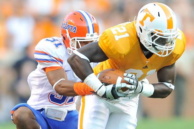 College Football 2012 Top 150 Players: No. 142 Da'Rick Rogers, Tennessee WR