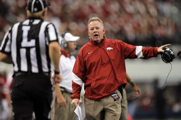 Bobby Petrino Provides Valuable Lessons to Future AD's About Sex, Texts, Etc.