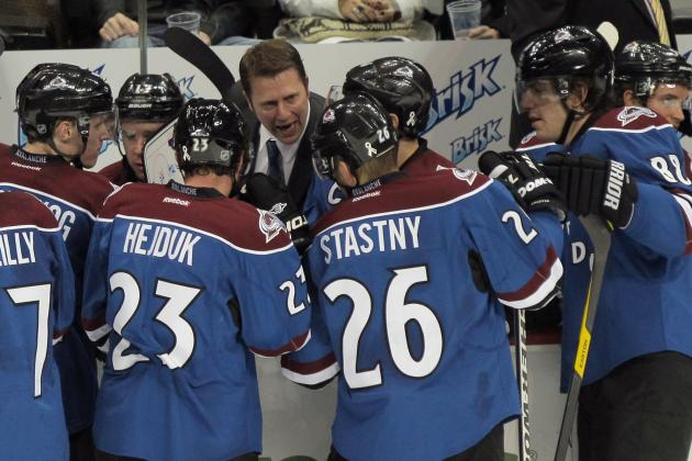 Colorado Avalanche: The Only Way to Validate Joe Sacco's Return