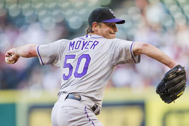 Jamie Moyer: Colorado Rockies SP Faces the San Francisco Giants at Coors Field