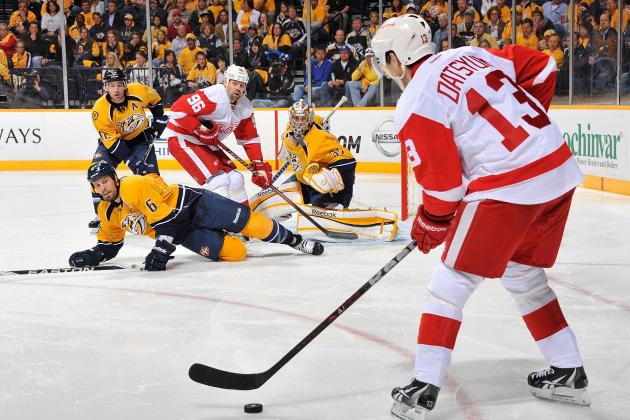 Shea Weber Hit Will Only Fuel Detroit Red Wings to Win Game 2