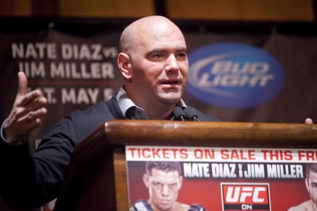 Why Dana White Won't Upgrade the UFC's Drug Testing Program