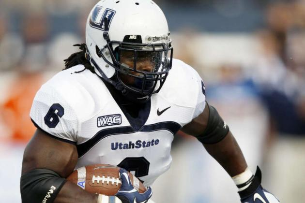 2012 NFL Draft: Denver Broncos Host Utah State RB Robert Turbin