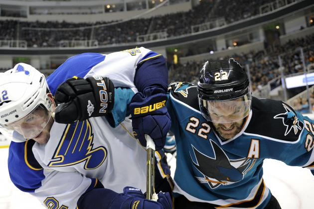 NHL Playoffs 2012: The San Jose Sharks Have a Good Chance to Defeat the Blues